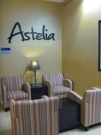 Astelia Apartment Hotel: Reception area