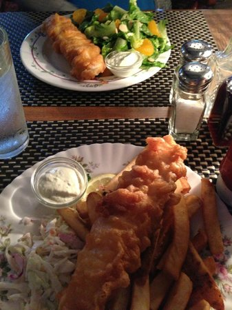 Fish Tales Cafe: Fish and Chips and Fish and a Salad
