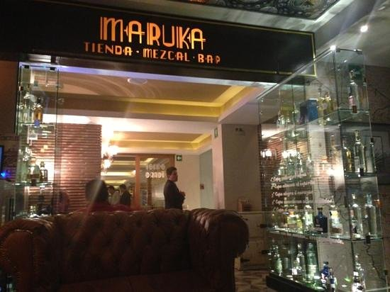 Maria Condesa Boutique Hotel: the mezcal bar