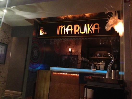 Maria Condesa: maruka bar