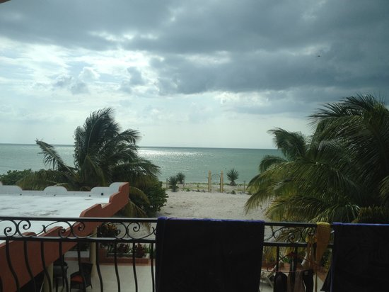 Castillito Kin-Nah: The view from the room on the mexican golf
