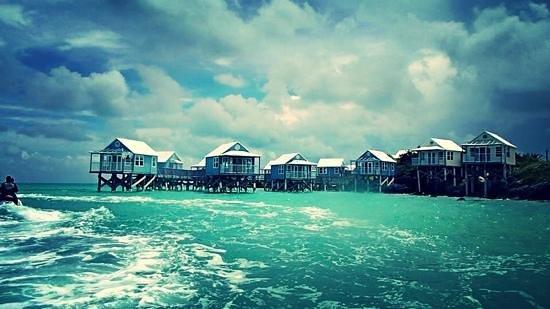 9 Beaches Resort : view of 9 beaches while jetskiing