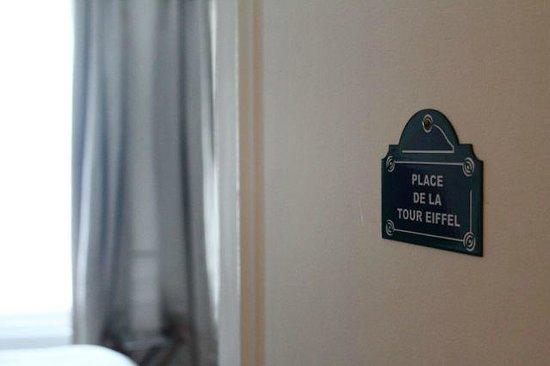 Courcelles-Parc : Place de la Tour Eiffel room