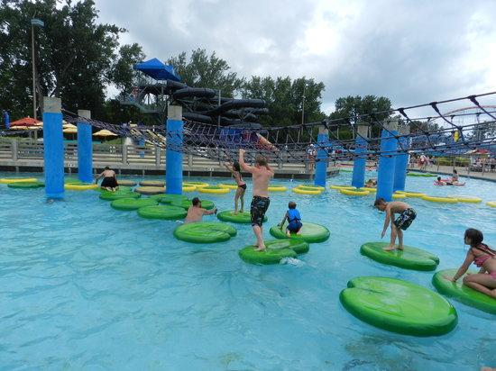 Cedar Point : kids fav rope swings ever