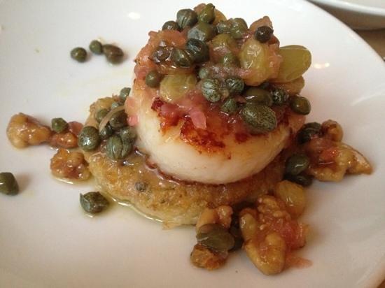 Passionfish : scallop appetizer