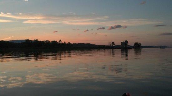 I Paddle New York: Sunset on the Hudson River