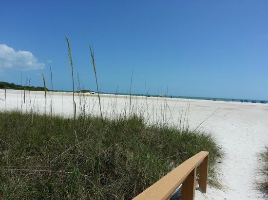 GullWing Beach Resort: Playa