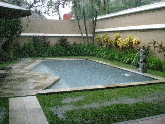 Mutiara Bali Boutique Resort & Villas: pool outside front verandah