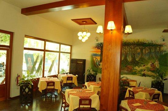 Grand Hotel Mercedes : Restaurante