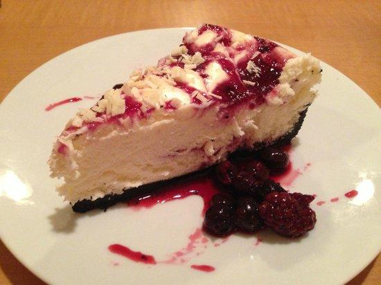 Montana Jack's: Huckleberry and White Chocolate Cheesecake