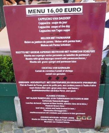 Le Grand Cafe Belfort : Le piège à touristre... et j'y suis tombé