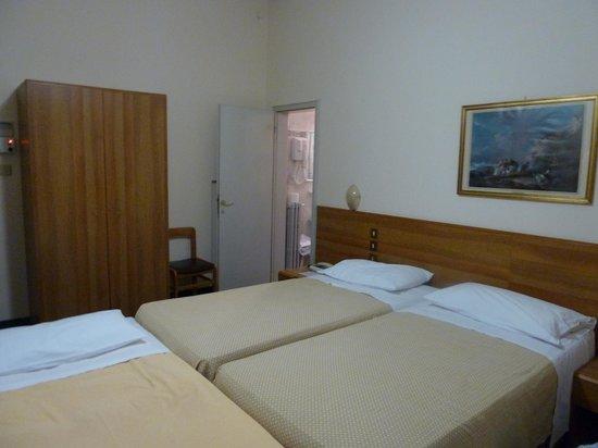 Hotel Helvetia: Habitación