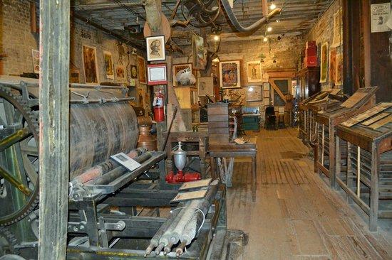 Interior Of Museum Picture Of Mark Twain Museum Of