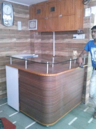 M K P Guest House: Reception