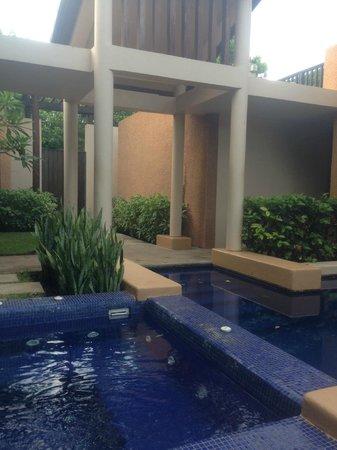 Banyan Tree Mayakoba: Spa Pool Villa Pool/Jacuzzi