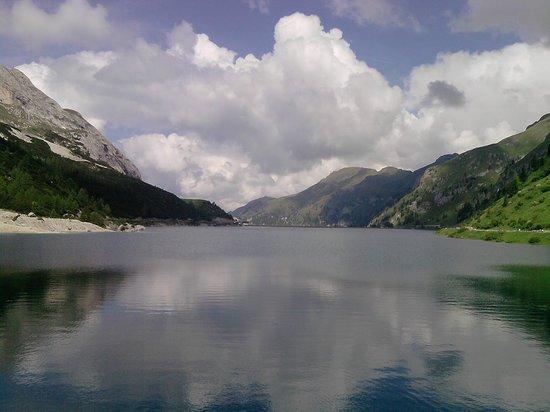 Romeno, Италия: lago Fedaia
