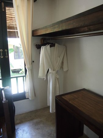 Phu Pai Art Resort : changing room