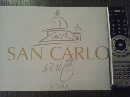 San Carlo Suite : TV Sat and International Channels