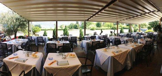 vista di clusane dal ristorante - Picture of Zucca Due, Clusane ...