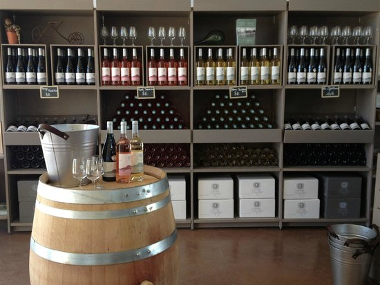 Domaine Vintur: Cellar Shop of their award winning wines