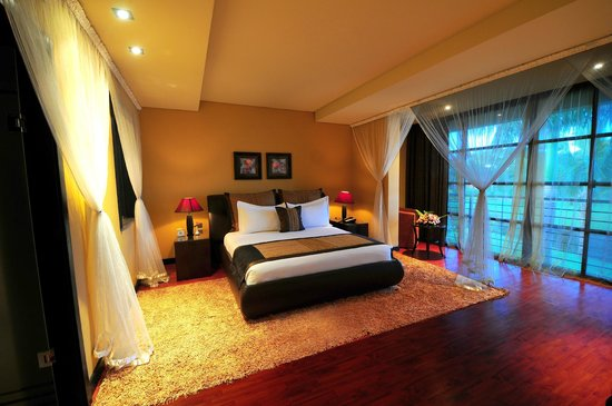 Munyonyo Commonwealth Resort: Bed Room