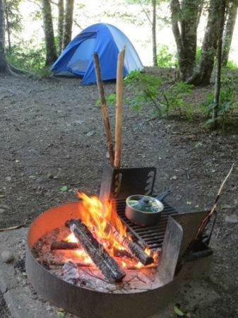 Colonial Creek Campground - Stehekin Valley Trail: Colonial Creek Camp