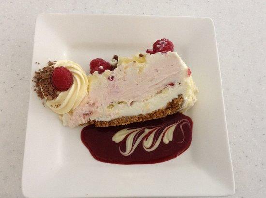 Maiden Heaven: Ice cream cake slice
