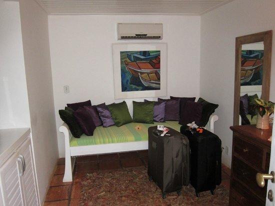Vila D'este: The common area in our suite