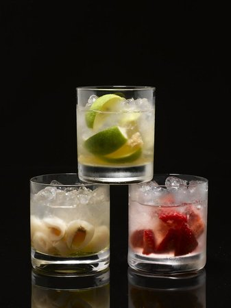 New Asia Bar: New Asia Fruit Caipiroska