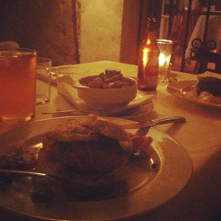 Restaurante Arandora: lamb burger