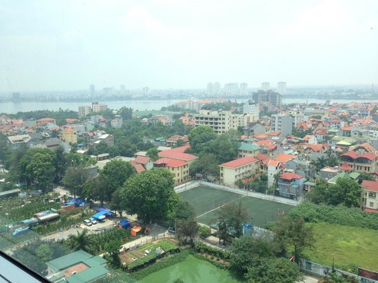 Fraser Suites Hanoi: view from room