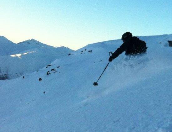 Snowdocdavos: Off-piste Davos