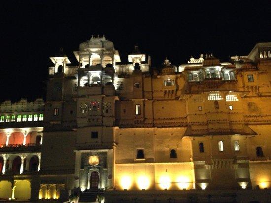 The Leela Palace Udaipur: Mewar fort