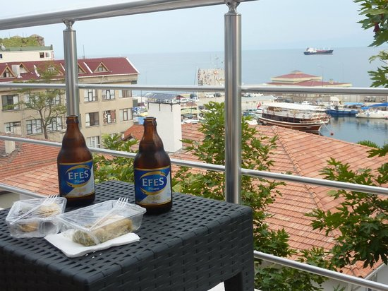 Sinopark Hotel: Great views for afternoon drinks on the Suite balcony