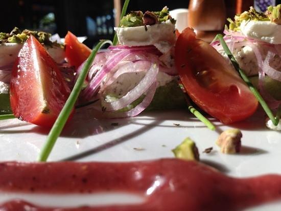 Giovanni's: Melon & Goat Cheese Salad