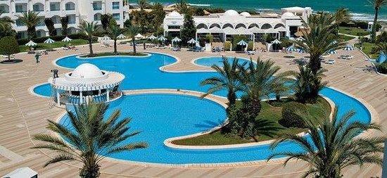 Mahdia Palace Thalasso: belle piscine
