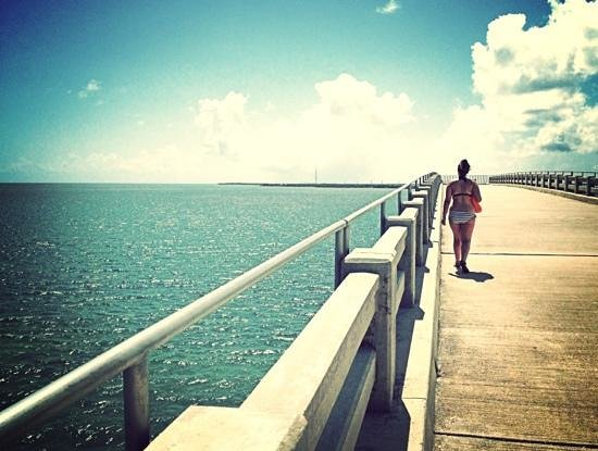 Bahia Honda State Park Campgrounds: old bridge, the views are amazing