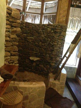 Green Lodge: salle de bains