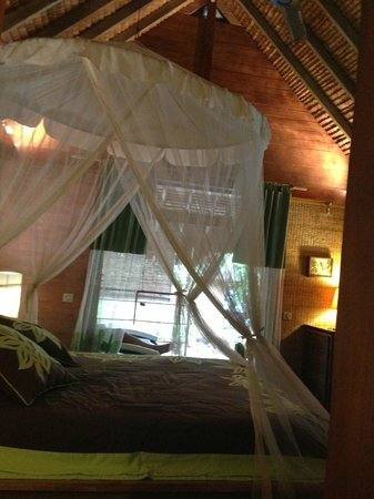 Green Lodge: chambre