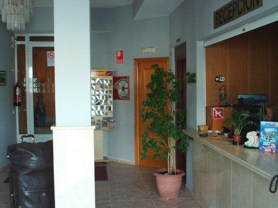 Hotel Marina: Small reception