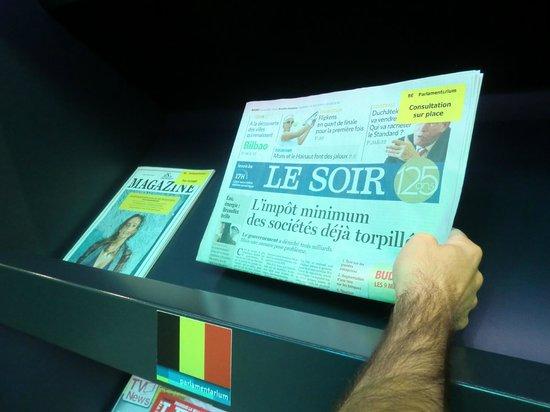 Parlamentarium : Le Soir