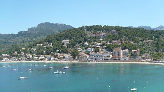 Citric Hotel Soller: vue du balcon