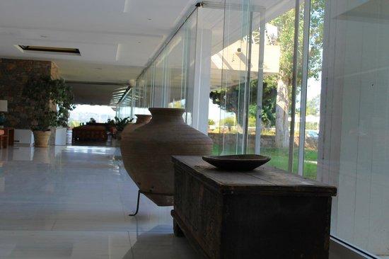 AKS Porto Heli Hotel: Σημείο στην είσοδο