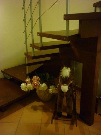 San Pietro A Corte B&B: rocking horse