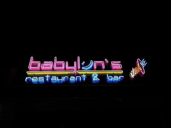 Babylon's restaurant: Babylons ıs a restruant and bar ın the centrer of gumbet
