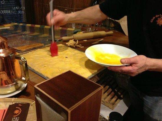 Club de L'empanada: Pintando
