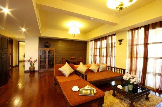Shewe Wana Suite Resort : living room suite