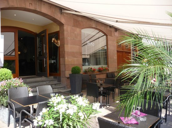 Terrasse Restaurant Strasbourg : Terrasse rue du Vieil H u00f4pital Picture of Restaurant