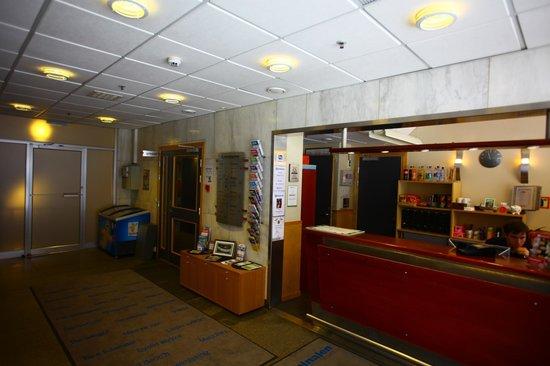Perminalen Hotel : hall d'accueil