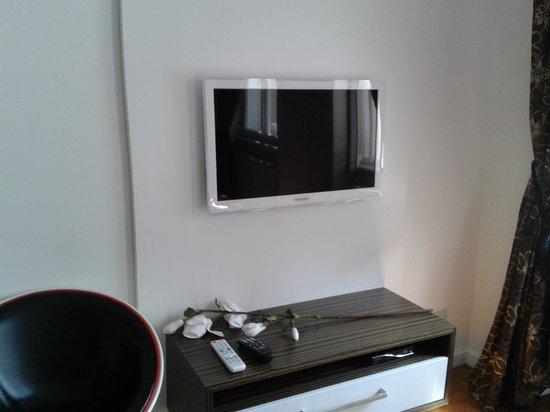 Malostranska Residence: ecran plat + décodeur tous satellites (1000 chaines au moins...)